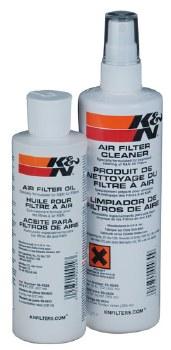 K&N Recharger Kit Squeeze Bott