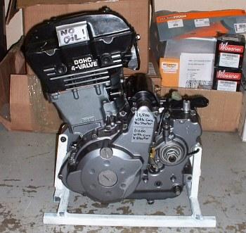 KLR650 Engine - Re-Built