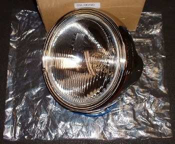 Headlight Universal 7in Chrome