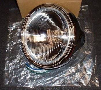 Headlight Kawasaki 7in Chrome