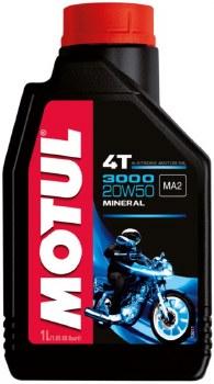 Motul Oils 3000 20W50 1L