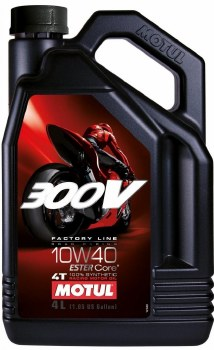 Motul Oils 300V 10W40 4L