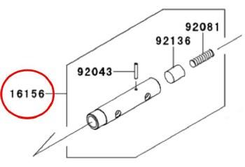 Oil Filter Bolt KLR650 87-14