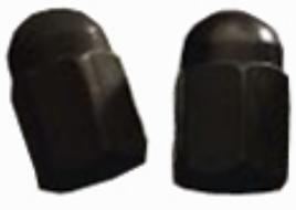 Tire Valve Caps Black