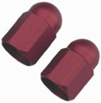 Tire Valve Caps Red