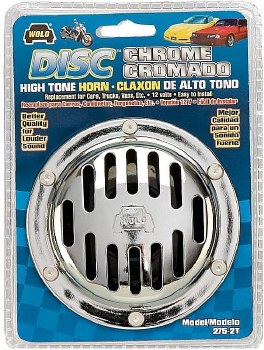 Wolo Deluxe Disc Horn High Ton