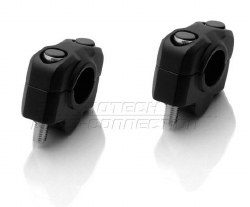 Bar Risers KLR 20mm BK