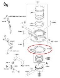 Base Gasket 87-10 KLR650