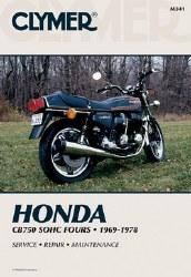 Clymer Honda M341