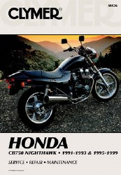 Clymer Honda M436