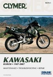 Clymer Kawasaki M474-3