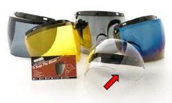 Echo 3 Snap Flip Shield Clear