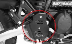 H&B KLR650 Brake Cyl Prot 08&U