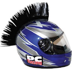 Helmet Mohawk Black