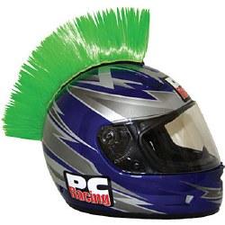 Helmet Mohawk Green