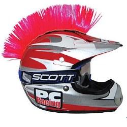 Helmet Mohawk Pink