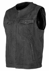 JR Mission Moto Vest XL BK