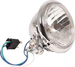 Headlight 4 1/2 Halogen Bottom