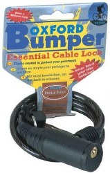 Oxford Bumper Cable Lock BK
