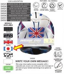 Oxford Helmet Bumper Target