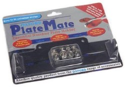 Oxford Plate Mate Black OF396