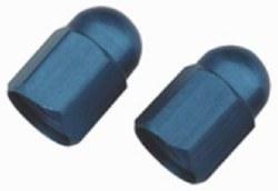Tire Valve Caps Blue