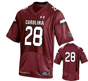 South Carolina Gamecocks #28 Mike Davis Garnet Jersey X-Large