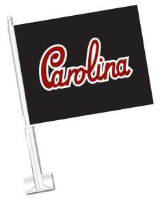 South Carolina Gamecocks Script Car Flag