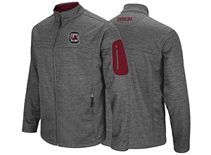 South Carolina Gamecocks Men's Full Zip Jacket MEDIUM