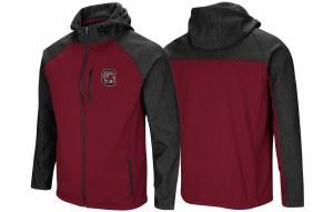 South Carolina Gamecocks Men's Full Zip Jacket SMALL