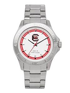 South Carolina Gamecocks Men's Silver Dial Watch