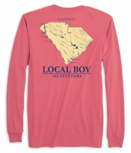 Local Boy Outfitters SC Waterway Long Sleeve T-Shirt SMALL