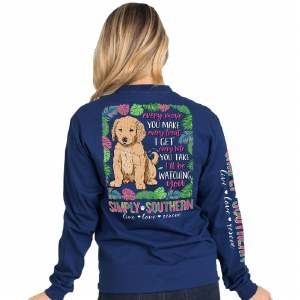 Simply Southern Watching Long Sleeve T-Shirt SMALL