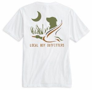 Local Boy Outfitters Lab Duck T-Shirt SMALL