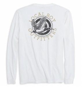 Local Boy Outfitters Mallard Flight Long Sleeve T-Shirt SMALL