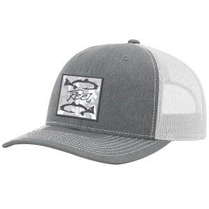 Richardson Reel Camo Woven Patch Hat