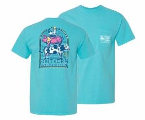 Southern Fried Cotton Farm Life T-Shirt SMALL