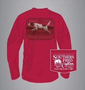 Southern Fried Cotton Field Hunter Long Sleeve X-LARGE