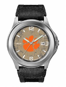 Clemson Tigers Men's Old School Watch
