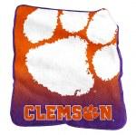 Clemson Tigers Raschel Blanket