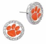 Clemson Tigers Eugenia Post Earrings