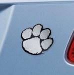 Clemson Tigers Metal Auto Emblem