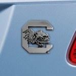 South Carolina Gamecocks Metal Auto Emblem