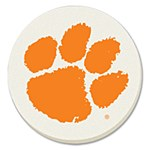 Clemson Tigers 4Pk Home Coaster Set