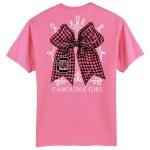 South Carolina Gamecocks Bow T-Shirt SMALL