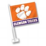 Clemson Tigers Car Flag