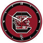 South Carolina Gamecocks Round Clock