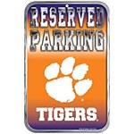 Clemson Tigers Parking Sign