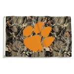 Clemson Tigers Mossy Oak 3x5 Banner Flag