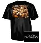 Duck Dynasty Black T-Shirt MD